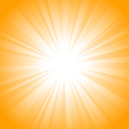 Sun vector background Stock Photo - 9292521