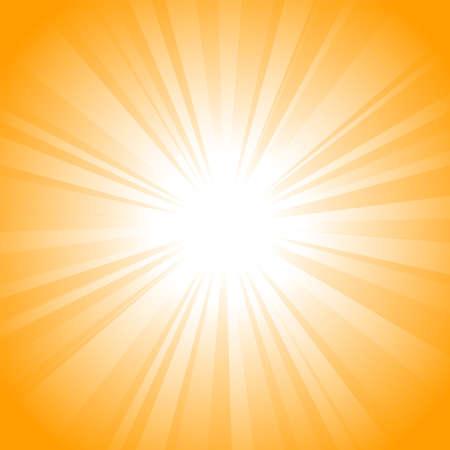 Sun vector background Stock Photo - 9292521