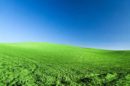 horizont: Green Horizont Landscape rock hill