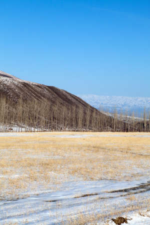 Landscape of mountains, roads Stock Photo - 12633131