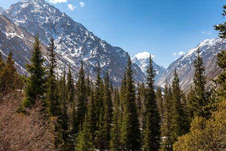 kyrgyzstan: Mountain landscape. Kyrgyzstan. Ala-Archa.