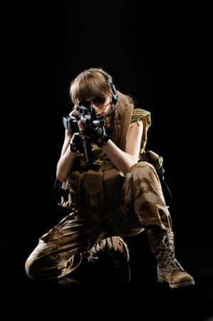tactical: Sexy Military Girl