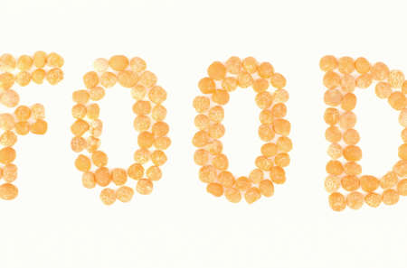 legume: Word food made from yellow peas