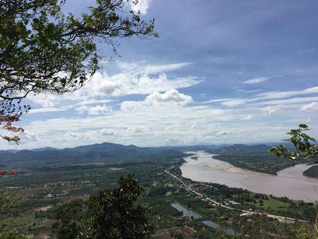 khong river: Khong River Stock Photo