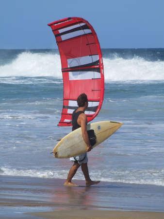 kitesurfen: Kitesurfen in Florianopolis - Santa Catarina - Brazilië