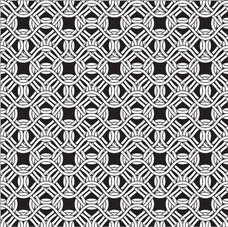 Tileable wavelike shape dark gray color. Squiggly thin bent stripes. Billowy curvy form template