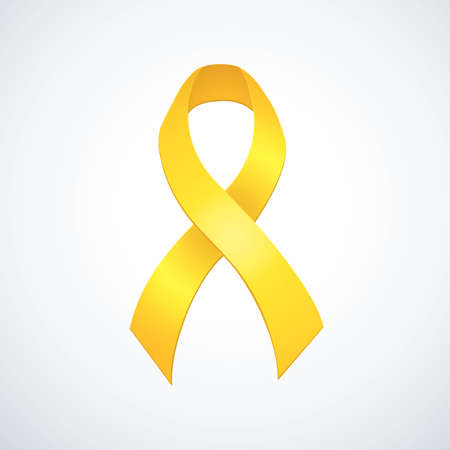 Aid  loop symbolic concept of USA remind insignia represent of support for military war forces vet, conflicts, suicide, mourning, prisoner, suffrage, melanoma, leukemia diagnosis. Global fund bow 向量圖像