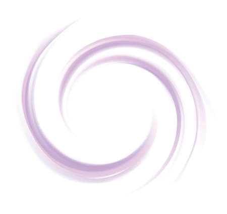 Glossy radial rippled curvy fond with space for text in glowing white center. Fluid mauve surface. Appetizing yogurt of juicy fruits light indigo color: grape, currant, mulberry, bilberry