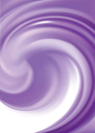 Glossy curvy smooth blur spin whirl motion dark text space design. Fluid surface art logo sign icon symbol frame border. Appetize juicy berry jelly light lavender color: dewberry, whortleberry, plum