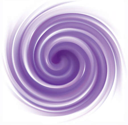 Glossy radial creamy curvy indigo fond with white space for text. Gel fluid surface. Appetizing mix jam juicy plants dark lavender color: grape, bilberry, dewberry, whortleberry, mulberry, plum