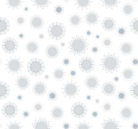 Novel sars H1n1 organic viral dna hazard risk warn virology care set element view white backdrop. 矢量图像