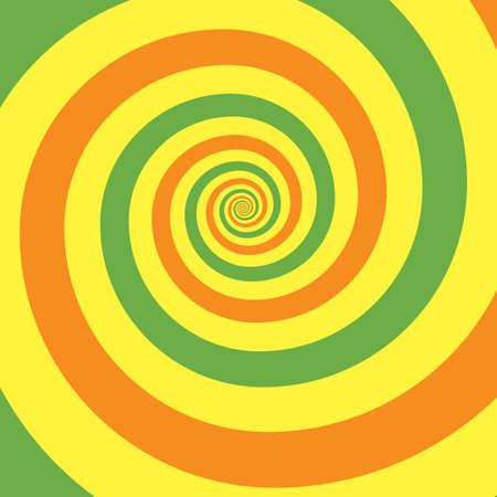 Outline vibrant black white paint drawn curvy infinite burst artist painting logo decor retro print style. Close up view modern bright red dizzy effect liquid fluid flow cycle pinwheel vertigo explosion