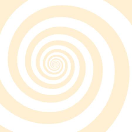 Outline vibrant black white paint drawn curvy infinite burst artist painting decor retro print style. Close up view modern bright red dizzy effect liquid fluid flow cycle pinwheel vertigo explosion