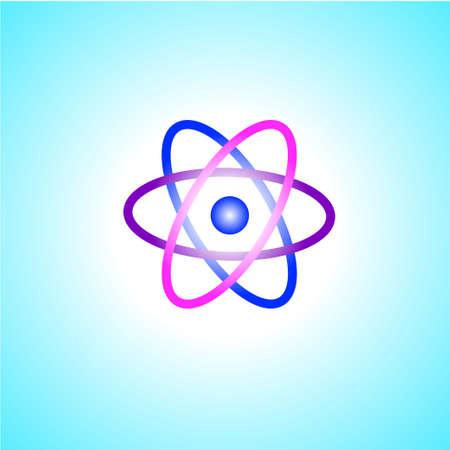 Molecule core. Core. Vector illustration.