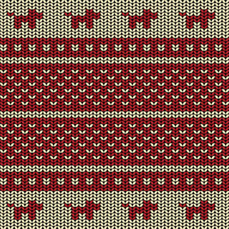 plain stitch: Fabric flat line background seamless pattern with silhouette of dog Illustration