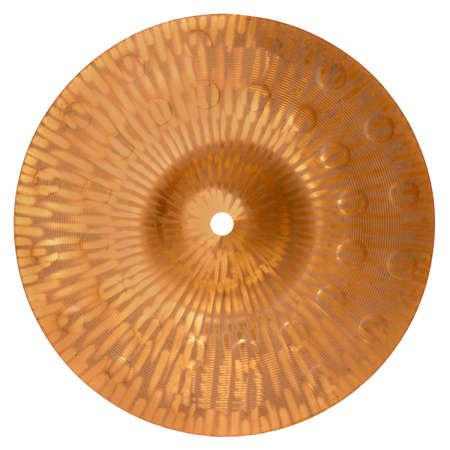 cymbal: Cymbal isolated on white Stock Photo