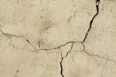Antiguo muro de texturas grunge con crack. Fondo perfecto con espacio.