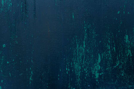 Old dark blue textures wall background. Perfect background with space.