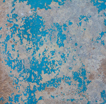 Texture of wood with old color blue and white background. Design Imagens