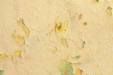 Dirty yellow grunge stucco texture