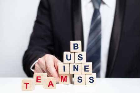 Business team concept. No success without a team Stockfoto