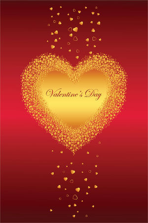 Greeting Card Valentine's Day Stock Vector - 6362667