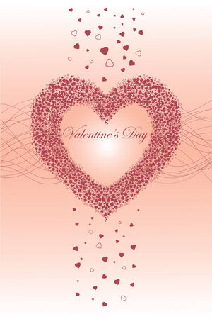 Greeting Card Happy Valentine Stock Vector - 6362646