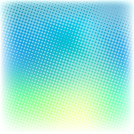 Abstract composition, light blue with a mesh background. Ilustracja