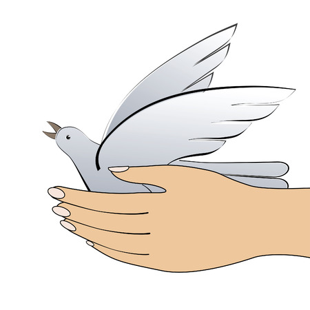 big toe: Bird in the hand.