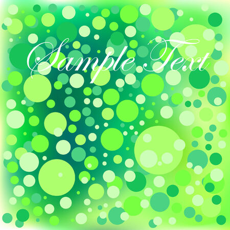 Abstract composition with the background mesh and the circle.  Vector