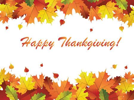 illustration of thanksgiving day background Illustration