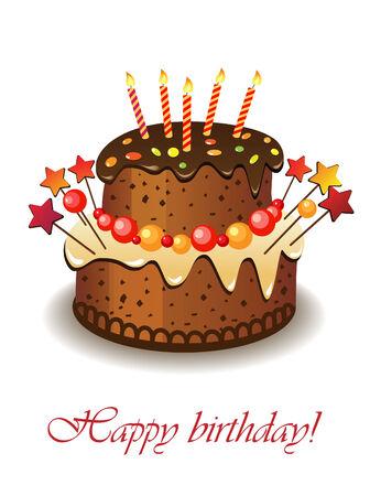 Kuchen für einen Geburtstag.