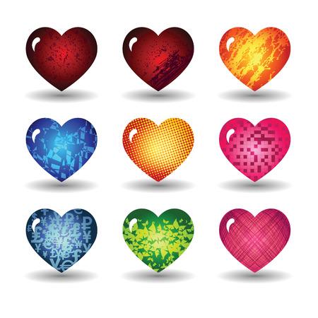 bondad: Los corazones del d�a de San Valent�n