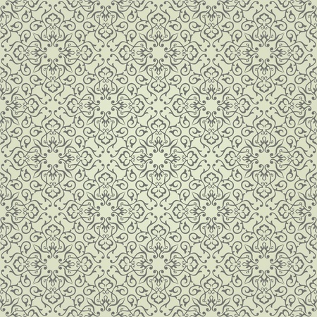 Background  Arabic floral pattern  Simples Ilustracja