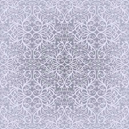 western pattern: Light blue Arabic floral designs  Simples