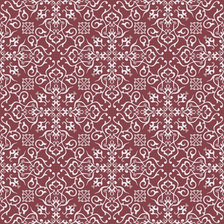 rapport: Background  Arabic floral pattern  Simples Illustration