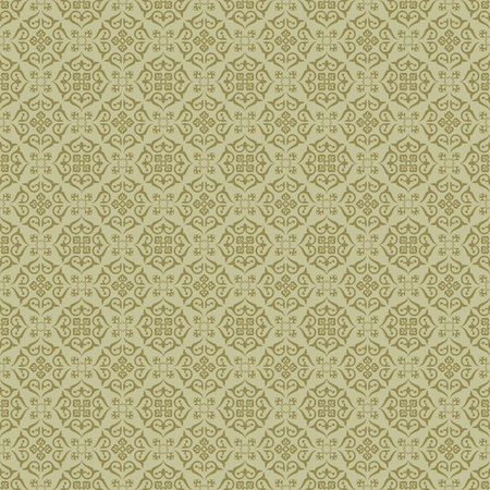 rich wallpaper: Background  Arabic floral pattern  Simples Illustration