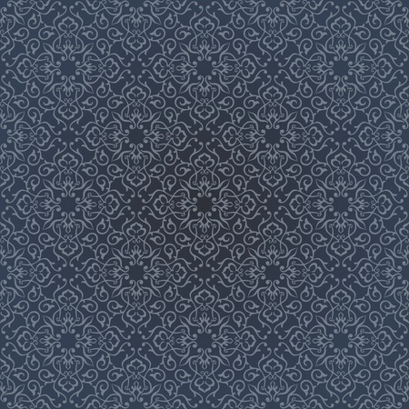 arabisch patroon: Achtergrond Arabisch bloemmotief Simples Stock Illustratie