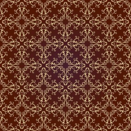 garden wall: Background  Arabic floral pattern  SimplesBackground  Arabic floral pattern  Simples  Vector  Illustration