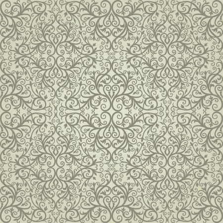 garden wall: Background  Arabic floral pattern  Simples Illustration