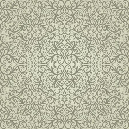 rapport: Background  Arabic floral pattern  Simples Illustration