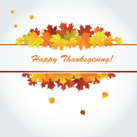 Banner for the Thanksgiving holiday  Vector  Vector