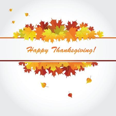thanksgiving day symbol: Banner per la festa del Ringraziamento Vector Vettoriali