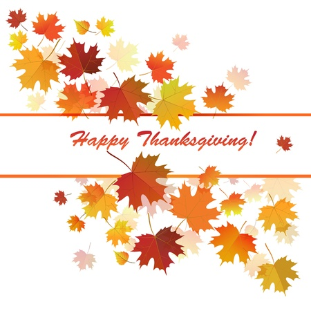 Banner for the Thanksgiving holiday  Stock Vector - 16451588