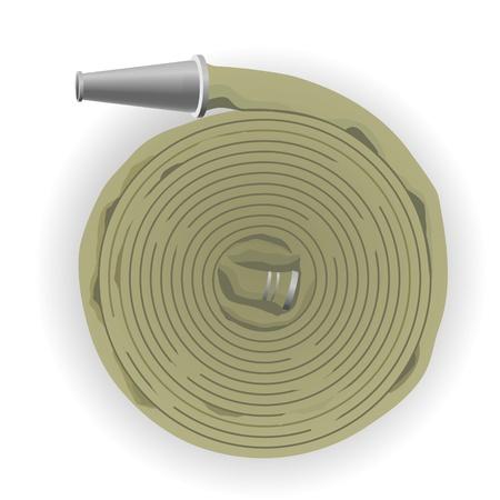 fire ring: Imagen de Flex para el transporte de medios de extinci�n de incendios, equipado con cabezales de conexi�n incendios