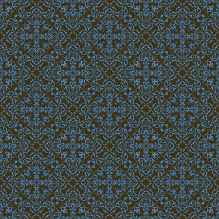 Background  Arabic floral pattern  Simples Иллюстрация
