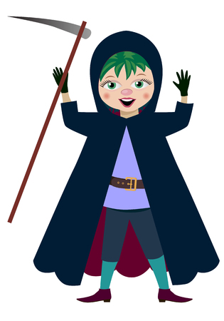Vector illustration. Character Halloween hero for the holiday. Illustration