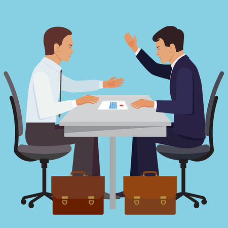 negotiations: Partnership design concept set with negotiations deal collaboration investment flat icons isolated vector illustration