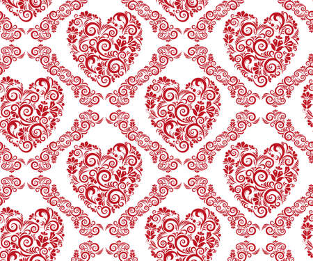 Vector ornamental hand drawing decorative background. Ethnic seamless pattern ornament. Vector pattern. Ilustração