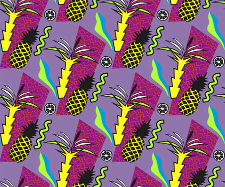 Vector decoration seamless pattern, colorful design, vector illustration